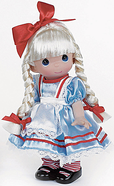 Precious Moments Co. Alice In Wonderland Doll 2013