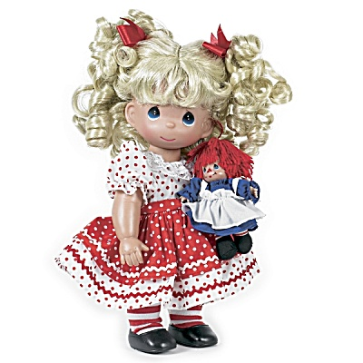 Precious Moments Playtime Raggedy Ann Doll Set 2012 (Image1)