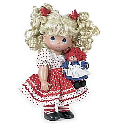 Precious Moments Playtime Raggedy Ann Doll Set 2012 (Image1)