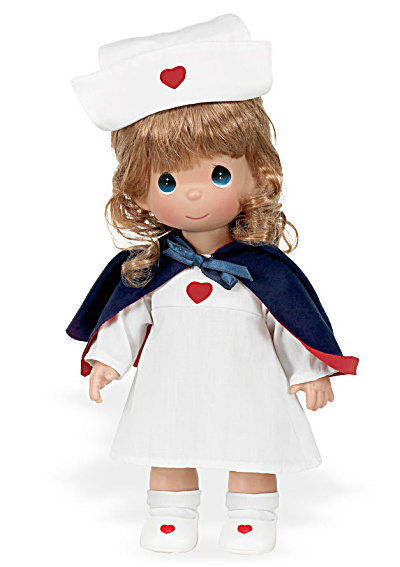 Precious Moments Love And Care To Share Nurse Doll, 2010