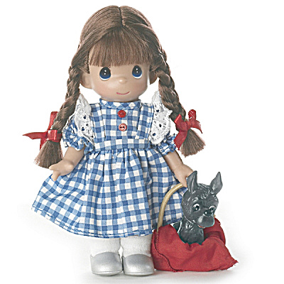 Precious Moments 7 In. Dorothy of Oz Doll with Tonto, 2012 (Image1)