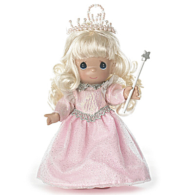 Precious Moments 7 In. Glinda of Oz Witch-ful Thinking Doll (Image1)