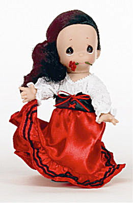 Precious Moments Co. Marita Of Spain Doll, 2010