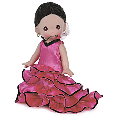 Precious Moments Co. Sancia of Spain Doll, 2014 (Image1)