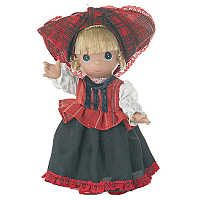 Precious Moments Hajna Of Hungary Doll, 2012