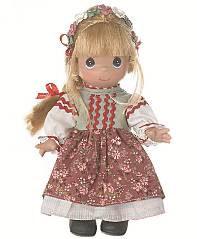 Precious Moments Pelagia of Poland Doll, 2013 (Image1)