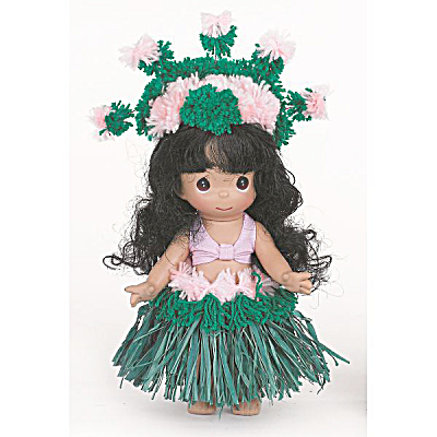 Precious Moments Makamae Of Hawaii Doll, 2013