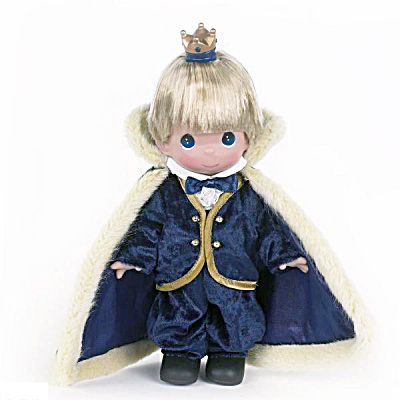 Precious Moments 9 In. Littlest Prince Doll, 2013 (Image1)