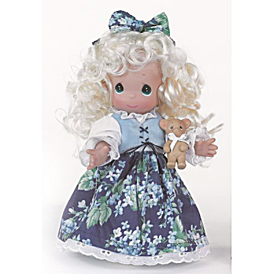 Precious Moments 9 In. Goldilocks Doll, 2013 (Image1)
