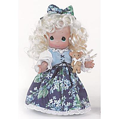 Precious Moments 9 In. Goldilocks Doll, 2013 (Image1)