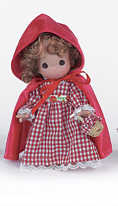 Precious Moments 9 In. Red Riding Hood Doll, 2013