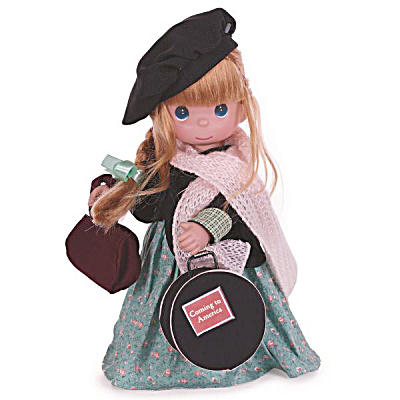 Precious Moments Coming To America - Ireland 12 In. Doll