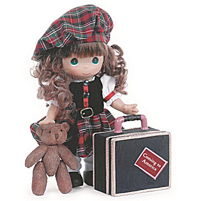Precious Moments Coming To America - Scotland 12 In. Doll