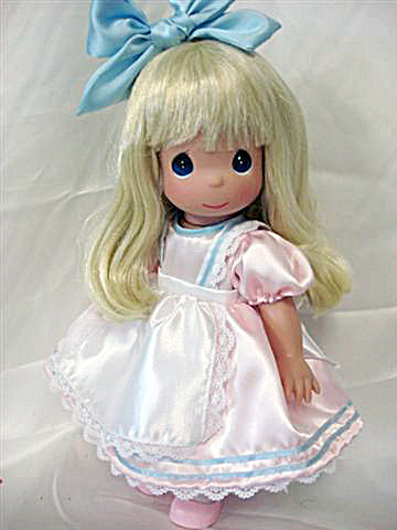 Precious Moments Precious In Pink Alice Doll, Disney 2010