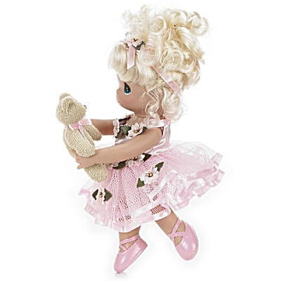 Precious Moments Dance with Me Blonde Ballerina Doll 2011 (Image1)