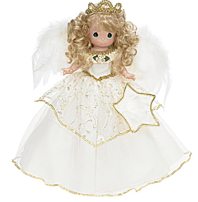 Precious Moments Once Upon a Christmas Dream Tree Top Angel (Image1)