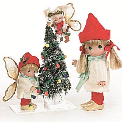 Precious Moments Fairy Christmas to You Doll Set 2011 (Image1)