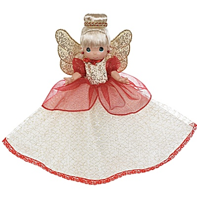Precious Moments 12 In. Christmas Blessings Tree-Top Angel 2012 (Image1)