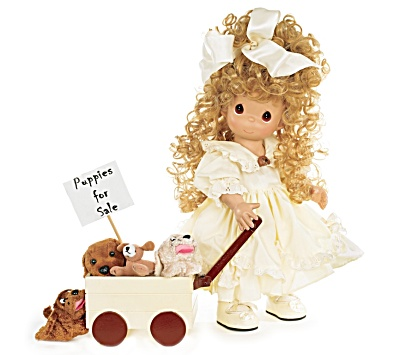 Precious Moments Puppies for Sale Doll, 2010 (Image1)