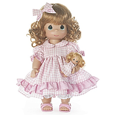 Precious Moments Dolly Daydreams 12 In. Doll With Doll 2012