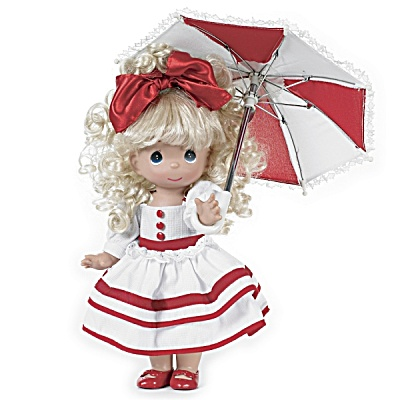 Precious Moments Singing In The Rain 12 In. Doll, 2012