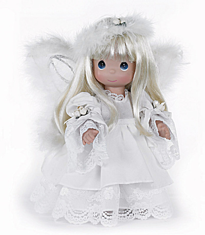 Precious Moments Heaven's Glory Blonde Angel Doll