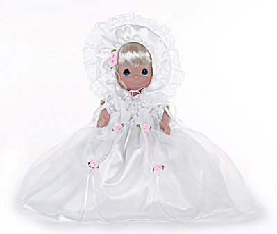 Precious Moments The Christening Blonde 12 In. Baby Doll (Image1)