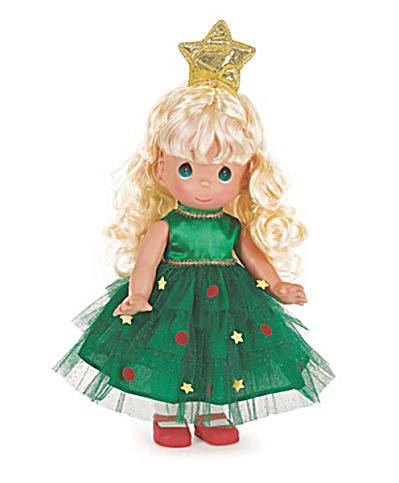 Precious Moments Blonde Tree-mendously Precious Doll