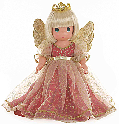 Precious Moments Blonde Christmas Memories Angel Doll 2014 (Image1)