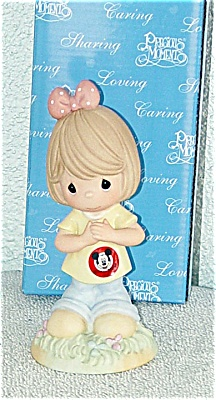 Precious Moments Disney You're My Mousketeer Figurine (Image1)