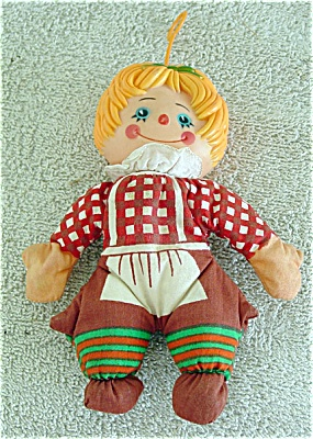 Fun World Raggedy-Type Bean Bag Girl Doll (Image1)
