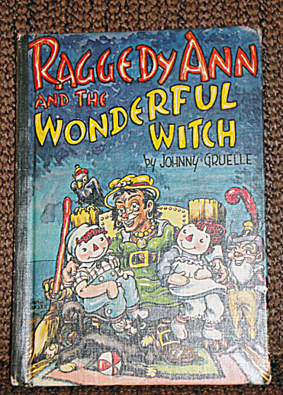 Raggedy Ann and the Wonderful Witch, Hard, Gruelle, 1961 (Image1)