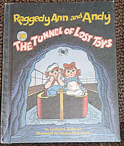 Raggedy Ann and Andy in The Tunnel of Lost Toys,  Book (Image1)
