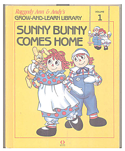 Sunny Bunny Comes Home, Raggedy Ann & Andy Book (Image1)