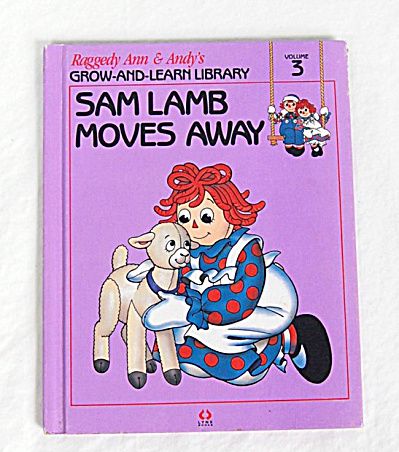 Sam Lamb Moves Away, Raggedy Ann and Andy Book (Image1)