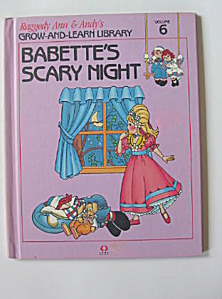 Babette's Scary Night, Raggedy Ann and Andy Book (Image1)