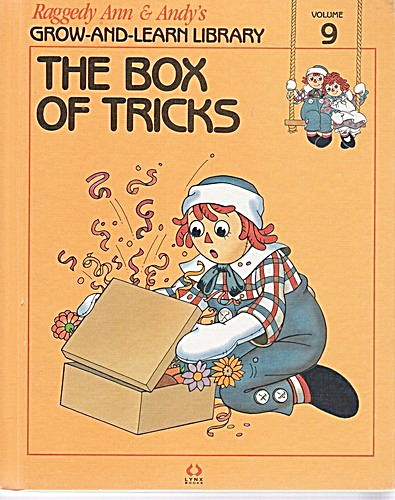 The Box of Tricks, Raggedy Ann and Andy Book (Image1)