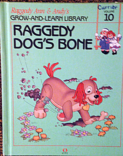 Raggedy Dog's Bone, Raggedy Ann and Andy Book (Image1)