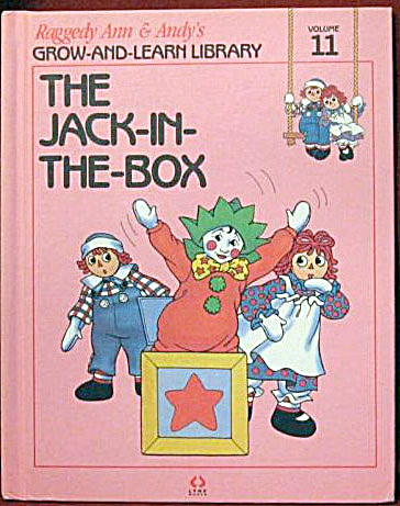 The Jack-in-the-Box, Raggedy Ann and Andy Book (Image1)