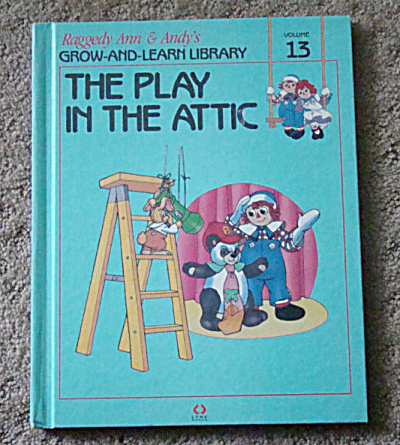 The Play in the Attic, Raggedy Ann and Andy Book, 1988 (Image1)