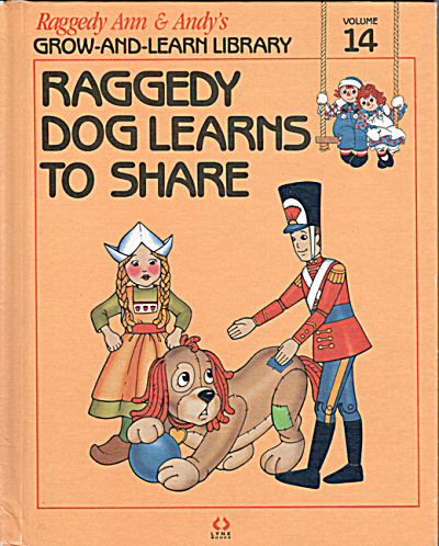Raggedy Dog Learns to Share, Raggedy Ann and Andy Book (Image1)