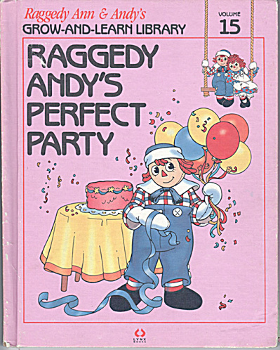 Raggedy Andy's Perfect Party, Raggedy Ann and Andy Book (Image1)