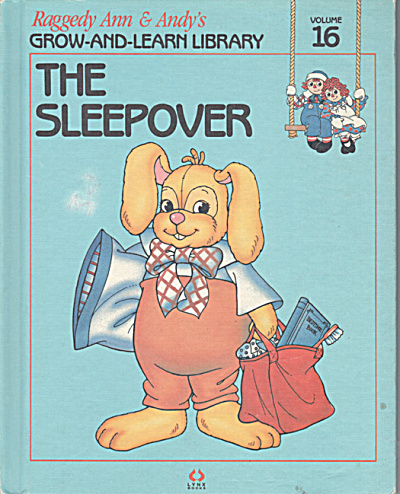 The Sleepover, Raggedy Ann and Andy Book (Image1)