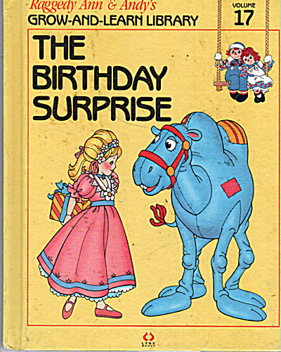 The Birthday Surprise, Raggedy Ann and Andy Book (Image1)