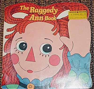 The Raggedy Ann Book Shape Book, Janet Fulton 1969 (Image1)