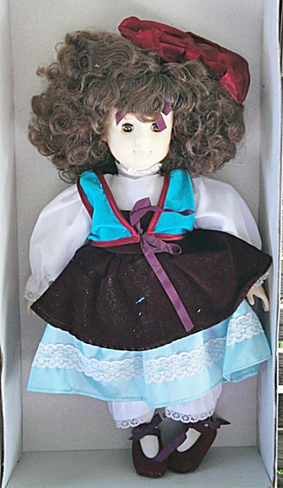 Russ Berrie Precious Dolls, 14 In. Christina, 1980s (Image1)