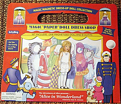 Schylling MagiCloth Alice Paper Doll 2003-04 (Image1)