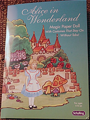 Schylling Alice in Wonderland Magic Paper Doll Portfolio (Image1)