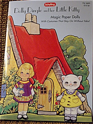 Dolly Dingle And Kitty Magic Paper Dolls 2003