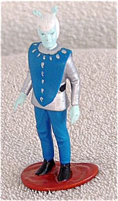 Enesco Polyvinyl Andorian Star Trek Alien Mini-figurine